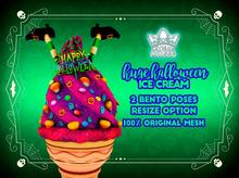 HALLOWEEN ICE CREAM - STRAWBERRY -WHITE QUEEN