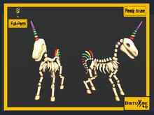 ::DisturbeD:: Skeleton Unicorn - FULL PERM MESH