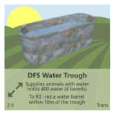 DFS Water Trough