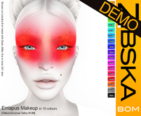 Zibska BOM Pack ~ Erriapus Makeup Demo [tattoo/universal tattoo BOM]