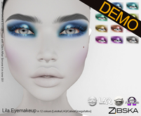 Zibska ~ Lila Eyemakeup Demos [lelutka/laq/catwa/omega/tattoo BOM]