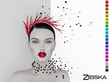 Zibska ~ Lila Color Change Headpiece and Collar