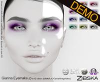 Zibska ~ Gianna Eyemakeup Demos [lelutka/laq/catwa/omega/tattoo]