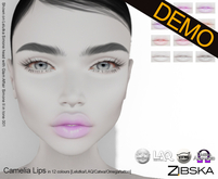 Zibska ~ Camelia Lips Demos [lelutka/laq/catwa/omega/tattoo]