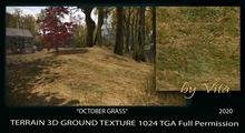 Vita's 3D Texture OCTOBER GRASS 1024 Seamless 2020