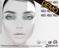 Zibska ~ Paloma Eyemakeup Demos [lelutka/laq/catwa/omega/tattoo]