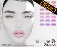 Zibska ~ Paloma Lips Demo [lelutka/laq/catwa/omega/tattoo]