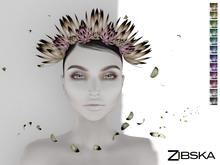 Zibska ~ Paloma Color Change headpiece and adornment
