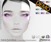 Zibska ~ Aubree Eyemakeup Demos [lelutka/laq/catwa/omega/tattoo]