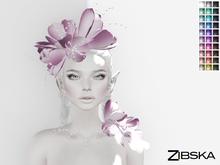 Zibska ~ Aubree Color change headpiece, shoulder accent and collar