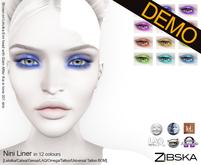 Zibska ~ Nini Liner Demos [lelutka/genus/laq/catwa/omega/tattoo/universal tattoo BOM]
