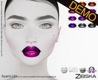 Zibska ~ Ayami Lips Demos [lelutka/laq/catwa/omega/tattoo]