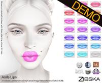 Zibska ~ Aoife Lips Demos [lelutka/genus/laq/catwa/omega/tattoo/universal tattoo BOM]