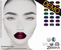 Zibska ~ Andmere Lips Demos [lelutka/genus/laq/catwa/omega/tattoo]