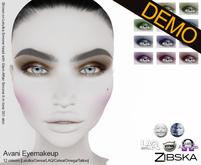 Zibska ~ Avani Eyemakeup Demos [lelutka/genus/laq/catwa/omega/tattoo]