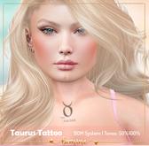<3 bemine - Taurus Tattoo