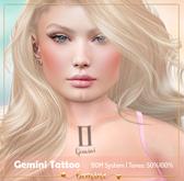 <3 bemine - Gemini Tattoo