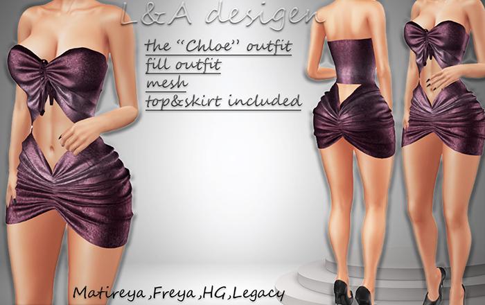 LA designs-the Chloe outfit