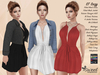 ST :: Suzy Outfit for Maitreya Lara, Slink, Belleza, Tonic, Voluptuous and Classic. 18 Tex HUD. Mix & Match