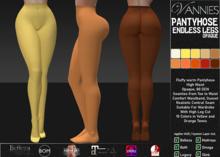 VANNIES Pantyhose Endless Legs Opaque - Pckg. 2 (Applier HUD + BoM) Belleza, Legacy, Maitreya, Slink, Omega + Classic Av