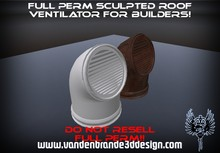 ~Full perm sculpted roof ventilator + Maps! and texture!