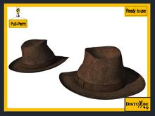 ::DisturbeD:: Gentleman Fedora Hat - FULL PERM MESH