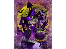 Wisdom Witch Art Canvas