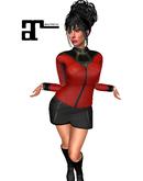 XK Maitreya Deep Space Traveller TNG  Red