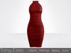 Tony Esso - Aria Dress (Merlot)