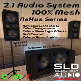 # Nexus DJ Series  Mini speaker system 2.1