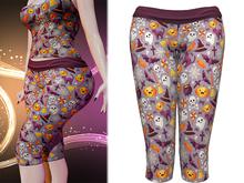 !PCP :: Lani Capris [Halloween Lavender]