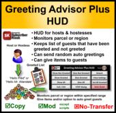 Greeting Advisor Plus HUD