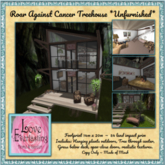 LE ~ Roar Against Cancer Treehouse *Unfurnished* Boxed