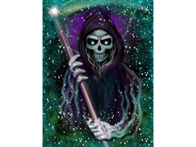 Grim Reaper Art Canvas
