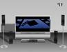Home Theater 001 - TV, Surround Speakers