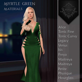 **Mistique** Myrtle Green {wear me and click to unpack)