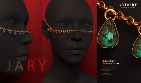 :ANDORE: - :accessories head: - Jary [Gold]