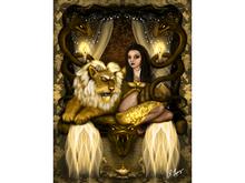 Lion Queen Art Canvas