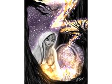 Praying Spirit Art Canvas