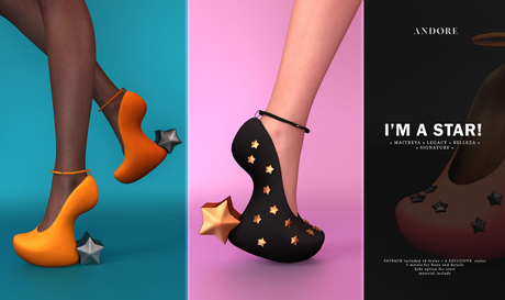:ANDORE: - shoes - I'm a Star (Midnight)