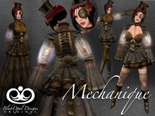 Mechanique Steampunk Outfit