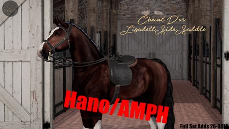 Cheval D'or / TeeglePet Hano/AMPH / Lisadell Sidesaddle Set.[B]