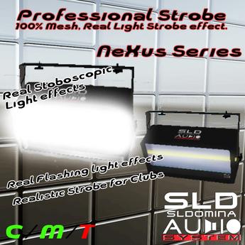 # Nexus DJ Series  Real Strobe Mesh