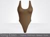 Tony Esso x MAGNA  - Noelle Bodysuit (Coffe)