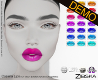 Zibska ~ Cosima Lips Demo [lelutka/laq/catwa/omega/tattoo]