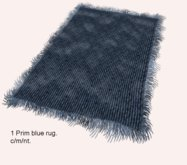 Blue rug m/c/nt