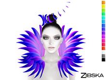 Zibska ~ Eridani Color Change Headpiece and Shoulders