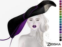 Zibska ~ Gia Color Change Wide Brim Hat