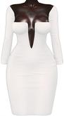 Kaithleen's Janice Pencil Dress - White