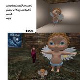 ***2 complete avatars Cupid tiny & giant-box